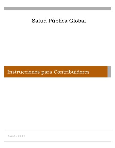 Instrucciones para Contribuidores